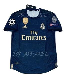 Camisa Blusa Azul Real Madrid 19/20 Versão Jogador