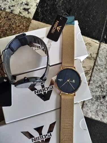 Relógio Nibosi Slim Original