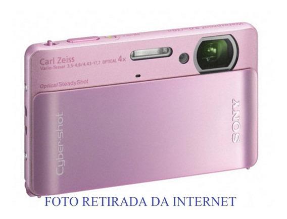 Câmera Digital Sony Dsc Tx5 Rosa Bebê Touch Screen