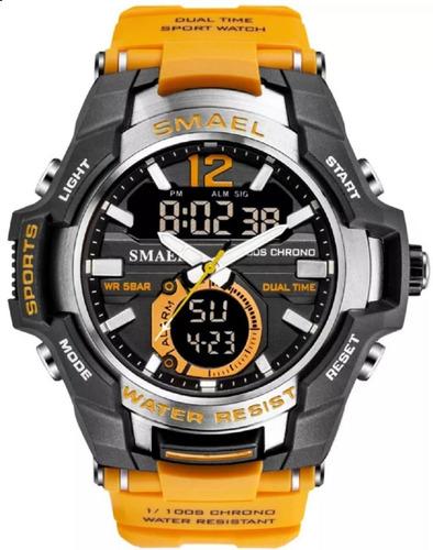 Relógio Masculino Esportivo Smael Original Prova Dágua Lar