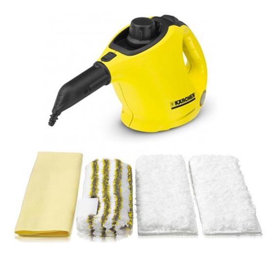 Limpiadora A Vapor Sc1 + Jgo. De Paños Kärcher