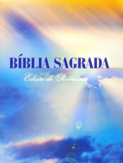 Bíblia Letra Pequena Brochura - Edição De Promessas 12x9