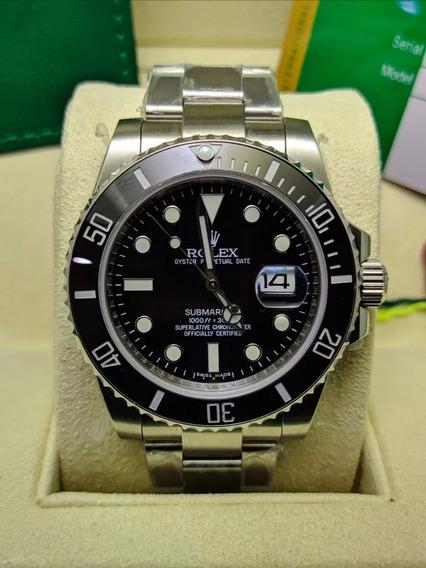 Rolex. Submariner Aço Inoxidável Barato Bom Suíço Qualidade