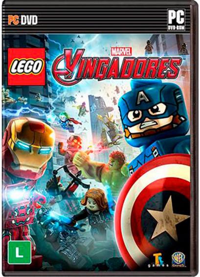 Lego Marvel Vingadores Avengers Pc Novo Lacrado Br