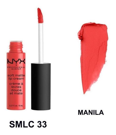 Labiales Nyx Soft Matte Lip Cream
