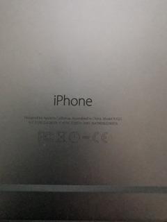 iPhone 6 Plus De 16 Gb Color Plata