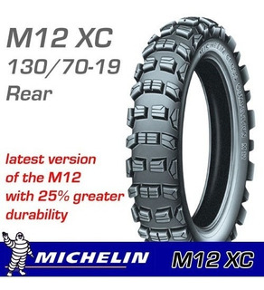 Cubierta 130 70 19 Michelin M12 Xcr Kxf Crf Yzf Ktm Rmz Beta