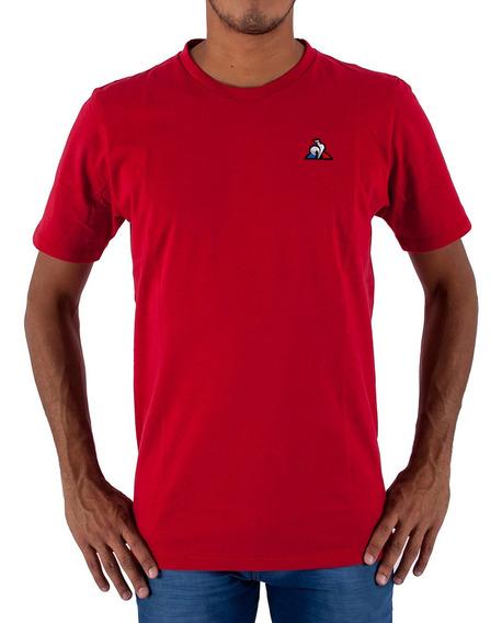 Remera Le Coq Sportif Lcs Rojo Hombre