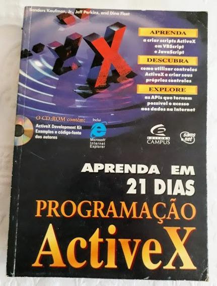 Livro Cd Informática Aprenda Em 21 Dias Programação Activex