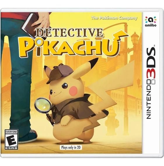 Detective Pikachu 3ds Mida Física Lacrado Nintendo Original