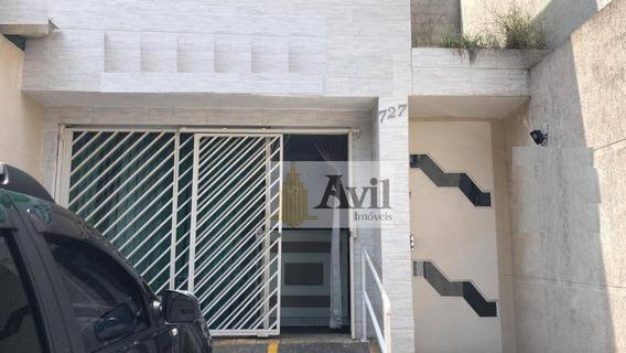 Salão Para Alugar, 150 M² Por R$ 4.000/mês - Vila Gomes Cardim - São Paulo/sp - Sl0071