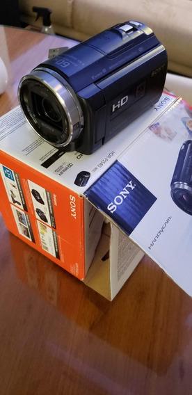 Câmera Handycam Sony Pj 540 Com Projetor 9.2 Full 2 Bat. 32