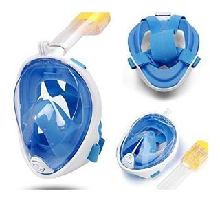 Mascara Mergulho Snorkel Com Suporte Gopro De Ação Câmera