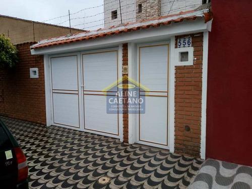 Casas De Cond., 2 Dorms. - Aviação!!! - Vact434