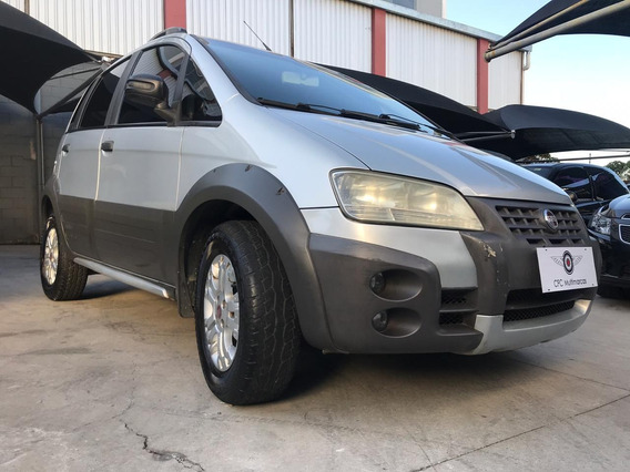 Fiat Idea Adventure 1.8 2006/2007 (flex) - Prata