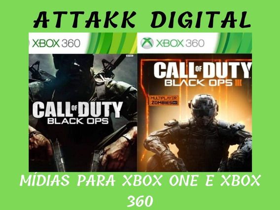 Xbox 360 - Call Of Duty Black Ops Combo