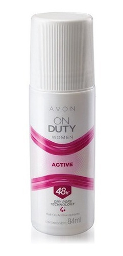 Desodorante Mujer Avon On Duty Active Roll-on 84ml