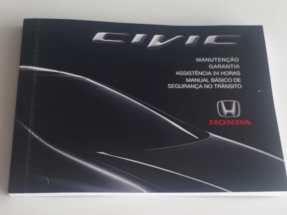 Manual De Revisão E Garantia Honda Civic 2012 2013 2014
