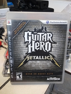 Guitar Hero Metallica Para Sony Ps3