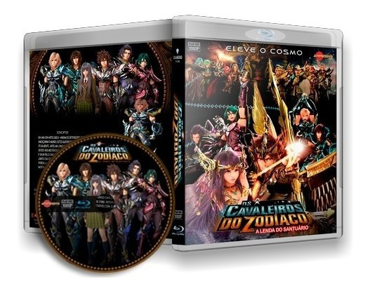 Cavaleiros Do Zodíaco - A Lenda Do Santuário Blu-ray Dublado