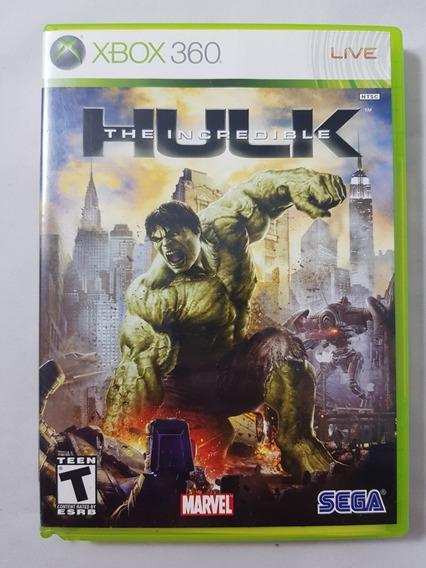 Hulk The Incredible Xbox 360 Mídia Física Pronta Entrega