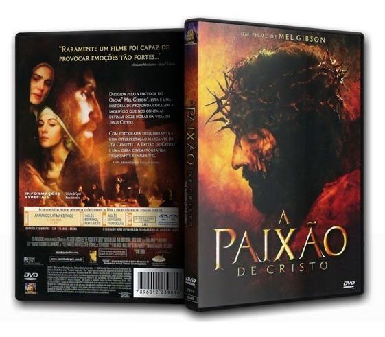 Dvd A Paixão De Cristo - Mel Gibson - Lacrado Novo Original