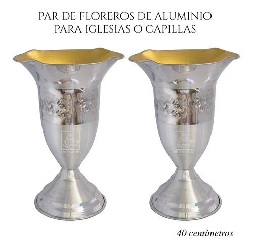 Floreros O Jarrones 40 Cm (par) Iglesia O Capilla