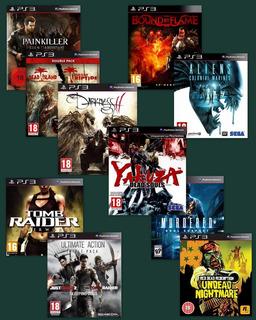 Combo 14 Juegos Digitales Ps3