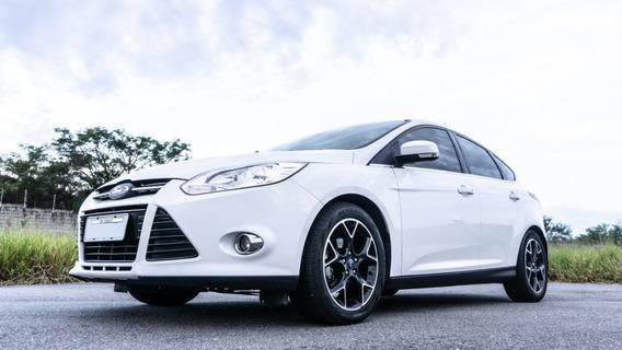 Ford Focus Titanium 2.0 Branco 2015 Automático