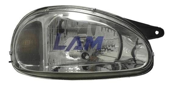 Optica Chevrolet Corsa Classic 99/11/ (v. Liso) Casco Negro