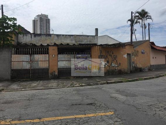 Terreno Residencial À Venda, Vila Mogilar, Mogi Das Cruzes. - Te0355