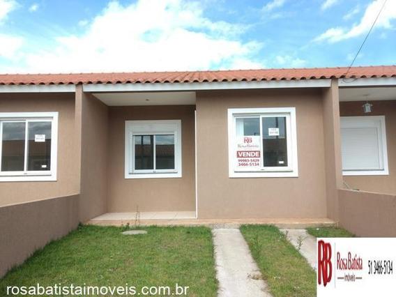 Casa Com 02 Dormitório(s) Localizado(a) No Bairro Olária Em Canoas / Canoas - C128