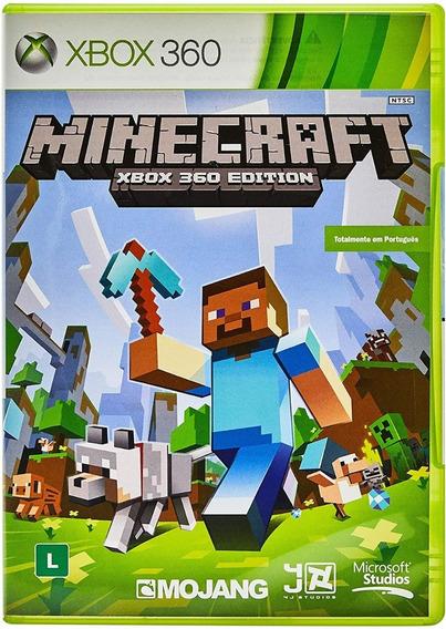 Minecraft Xbox 360 Original (mídia Digital)
