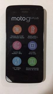 Celular Moto G5 Plus Negro. Nuevo + Cargador. Sin Caja.