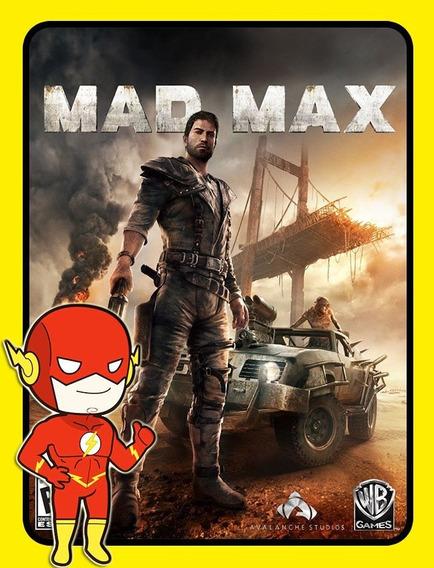 Mad Max Pc - Steam Key (envio Flash)