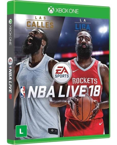 Game Xbox One Original Br Nba Live 2018 Blu Ray Midia Fisica