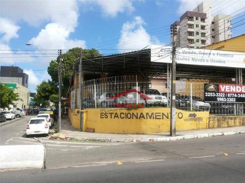Prédio Para Alugar, 726 M² Por R$ 18.500,00/mês - Fátima - Fortaleza/ce - Pr0016