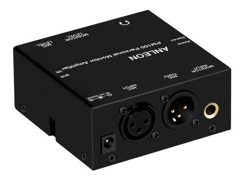 Imagen 1 de 4 de Anleon Pm100 Amplificador Para Monitoreo Personal Cuotas