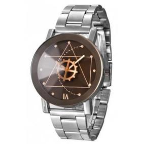Relógio Quartz Com Pulseira De Aço100% Original
