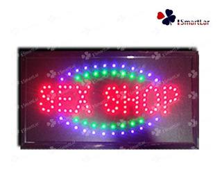 110volts Placa Painel Letreiro De Led Luminoso Quadrado