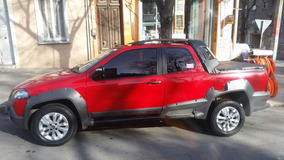 Camioneta Fiat Adventure Doble Cabina Strada Locker 1.6 Nuev