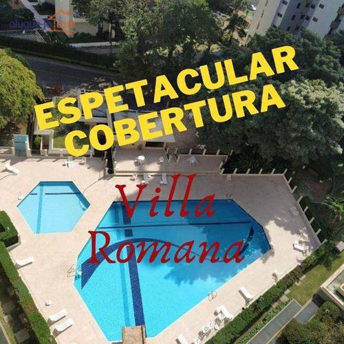 Imagem 1 de 16 de Cobertura Com 5 Dormitórios À Venda, 400 M² Por R$ 1.600.000,00 - Vila Ema - São José Dos Campos/sp - Co0242