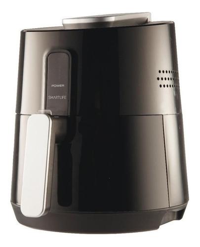 Imagen 1 de 2 de Freidora eléctrica sin aceite Smartlife SL-AF0002B 2.6L negra 220V-240V