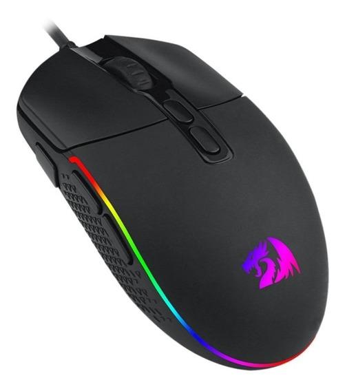 Mouse Invader Preto Redragon