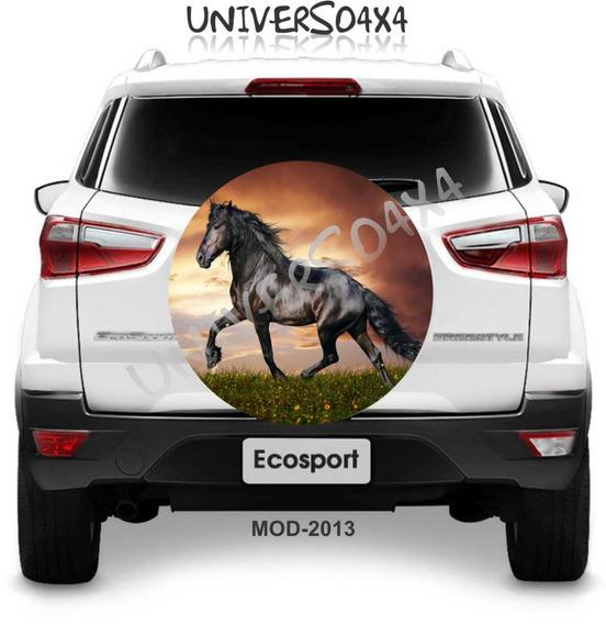 Capa Estepe Aircross Spin Activ Cabo+cade Cavalo Preto M2013