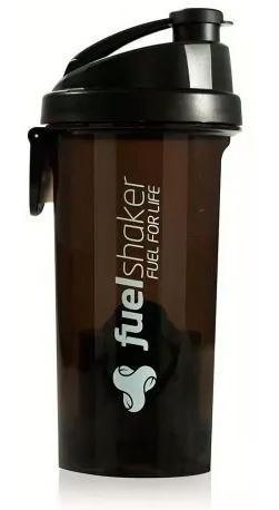 Coqueteleira Fuel Shaker 470ml C/ Compartimento Preta