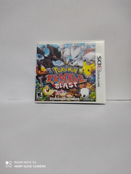 Jogo Pokémon Rumble Blast Para Nintendo 3ds