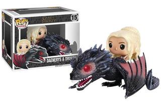 Figura Funko Pop! Game Of Thrones: Drogon Y Daenerys