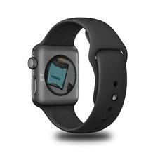 652225c253b Iwo 8 Preto Relógio Inteligente Ios Android Preço A Vista · Relógio  Inteligente Android E Ios Fret Gratis