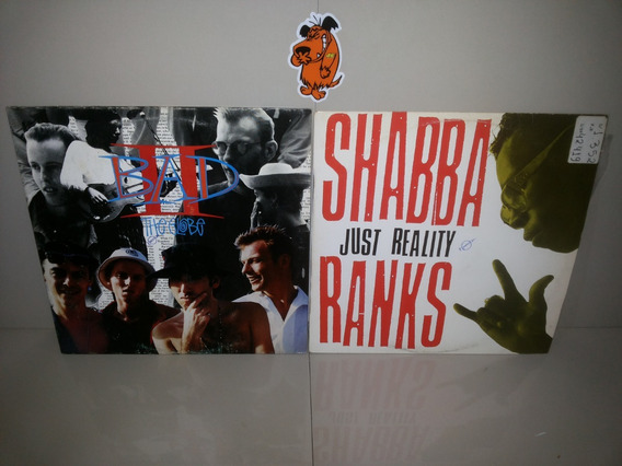 Lp Vinil Shabba E Big Audio - Lote